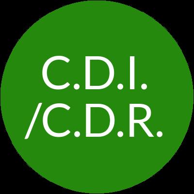 Le CDI - CDR